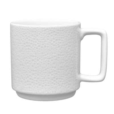 Colortex Stone White Porcelain Mug 16 oz.