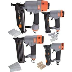 Pneumatic Finishing Kit with Fasteners (4-Piece)