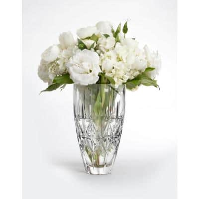 Sparkle 9 in. Clear Crystal Vase