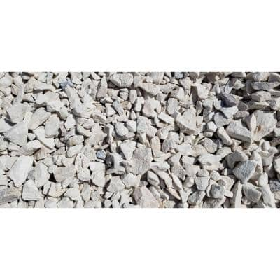 "10 cu. ft. Premium White Marble Chips .75"" - 2.00"" Decorative Stone - (1 Bag/10 cu. ft./Pallet)"