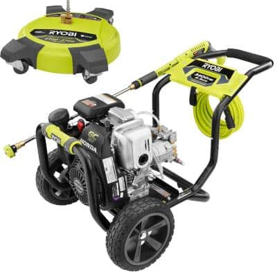 3,400 PSI 2.3 GPM Cold Water Gas Pressure Washer with 16 in. Surface Cleaner