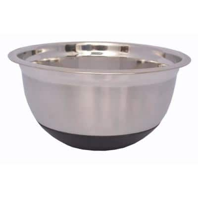 4.5 qt. Stainless Mixing Bowl with Silicone Base