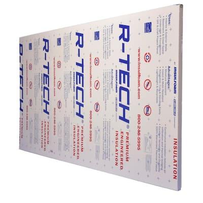 3/4 in. x 4 ft. x 8 ft. R-2.89 Foam Insulating Sheathing