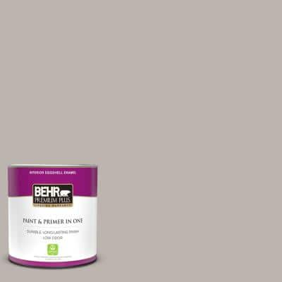1 qt. #PPU18-12 Graceful Gray Eggshell Enamel Low Odor Interior Paint and Primer in One