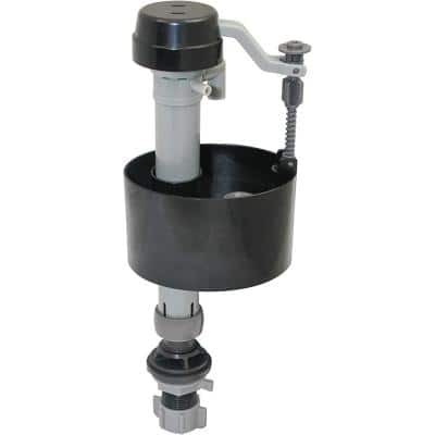 Universal Adjustable Anti-Siphon Toilet Fill Valve with Supply Line