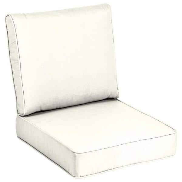 Home Decorators Collection 24 X, White Outdoor Furniture Cushions