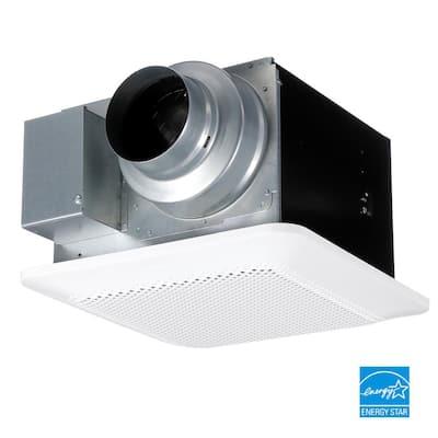 WhisperChoice Pick-A-Flow 80/110 CFM Ceiling Bathroom Exhaust Fan with Flex-Z Fast Bracket
