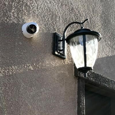 4K True Detect White Add-On Dome Surveillance Camera