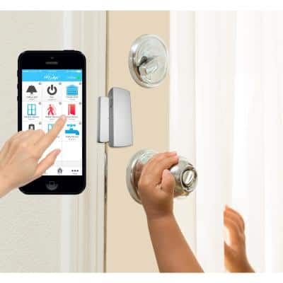 Wireless Alarm, Security System Started Kit - Echo Alexa and IFTTT compatible