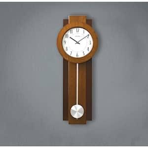 23.5 in. x 8.75 in. Pendulum Wall Clock