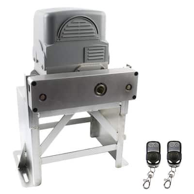 Slide Single Automatic Gate Opener Kit 100 ft. Length - 2000 lbs. Opacity