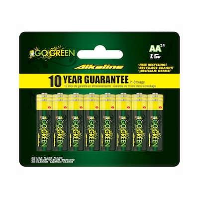 AA Alkaline Battery (24 per Pack)