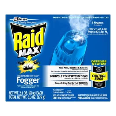 6.3 oz. Max Concentrated Fogger