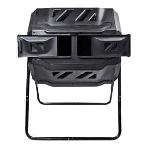 5.6 cu. ft. Rotary 2-Chamber Tumbling Composter