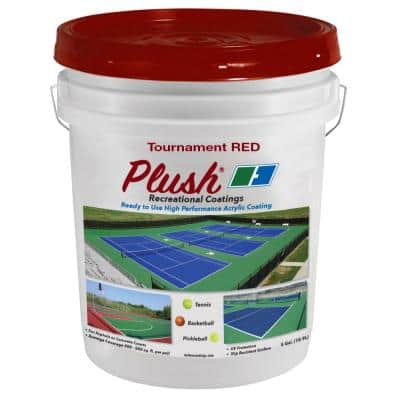 5 gal. Tournament Red Recreational Surface Coating