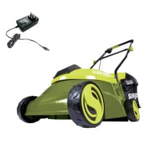 14 in. 28-Volt Cordless Walk Behind Push Mower Kit with 4.0 Ah Battery + Charger