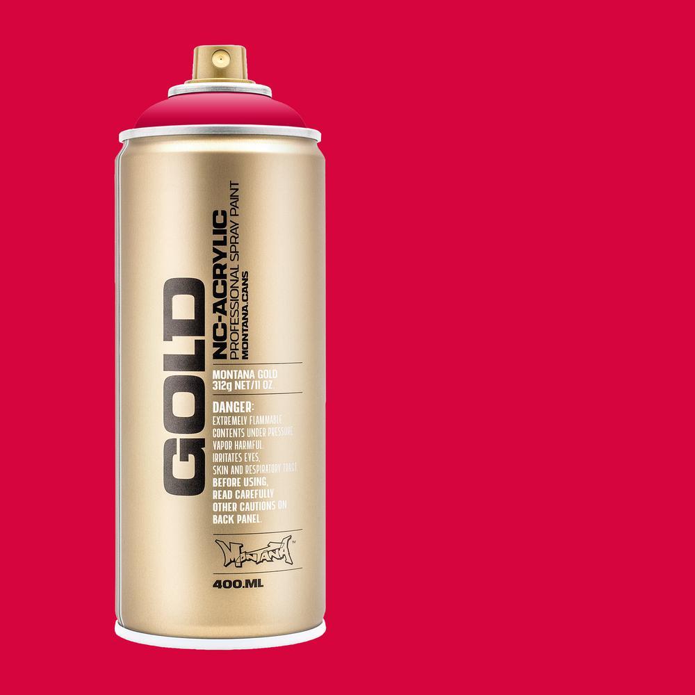 11 oz. GOLD Spray Paint, Raspberry