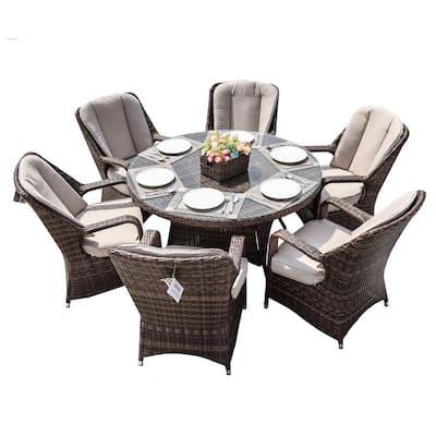 Round Patio Dining Sets, Round Patio Table Set