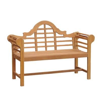 4ft. Isla Teak Wood Outdoor Bench