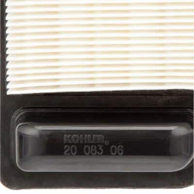 Air Filter for Kohler Courage SV470-620 15-22 HP Engines with Foam Pre-Filter Included