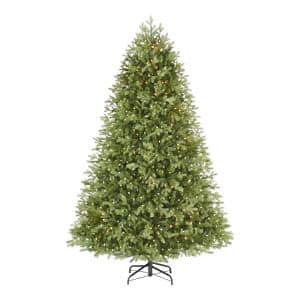 7.5 ft CassidyFraserFir LED Pre-Lit Artificial Christmas Tree with 900 Color Changing C4 Lights