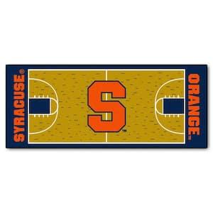 Syracuse University 3 ft. x 6 ft. Basketball Court Runner Rug