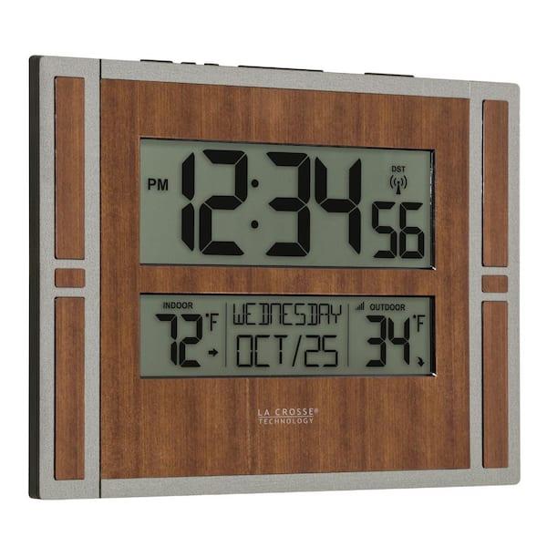 La Crosse Technology Atomic Digital, Best Atomic Clock With Indoor Outdoor Temperature