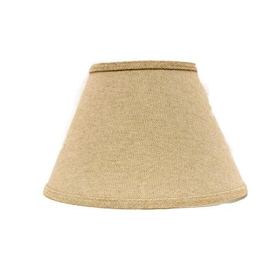 6 in. x 5.55 in. Neutral Brown Lamp Shade