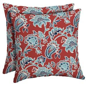 16 x 16 Caspian Square Outdoor Throw Pillow (2-Pack)