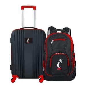NCAA Cincinnati Bearcats 2-Piece Set Luggage and Backpack