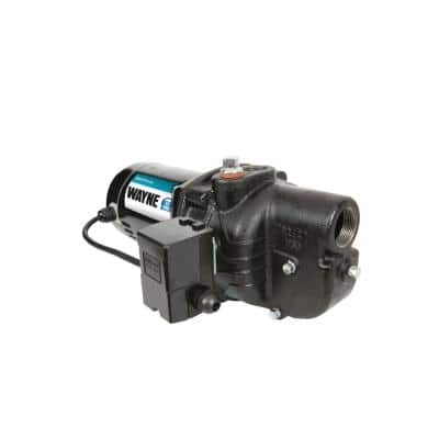 Upgraded 1/2 HP Cast Iron Shallow Well Jet Pump