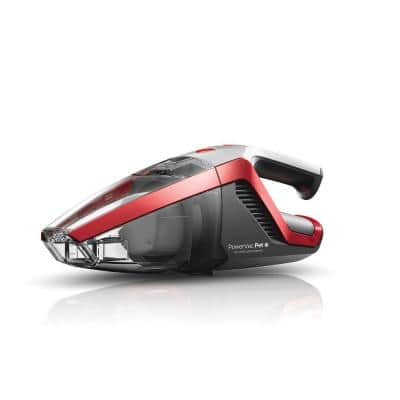 PowerVac Pet 18-Volt Cordless Handheld Vacuum Cleaner with Motorized Pet Tool