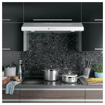 36 in. Over the Range Convertible Range Hood in Stainless Steel