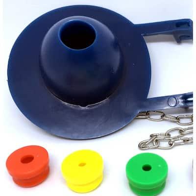 JAG Plumbing Packs 2 in. Toilet Tank Flapper with Baffles (12-Pack)