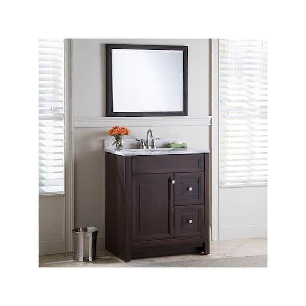 Home Decorators Collection Brinkhill 30, Home Depot Bathroom Furniture