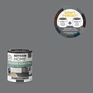 1 qt. Dark Gray Interior Floor Base Coating