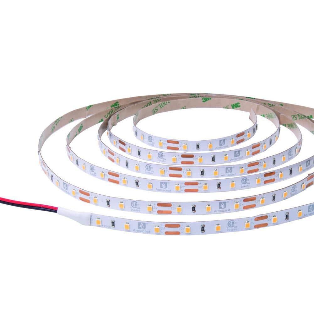 Armacost Lighting RibbonFlex Pro 60/800 12 ft. Soft Bright White (3000K) Under Cabinet LED Tape Light