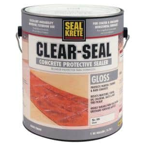 1 gal. Gloss Clear Seal Concrete Protective Sealer