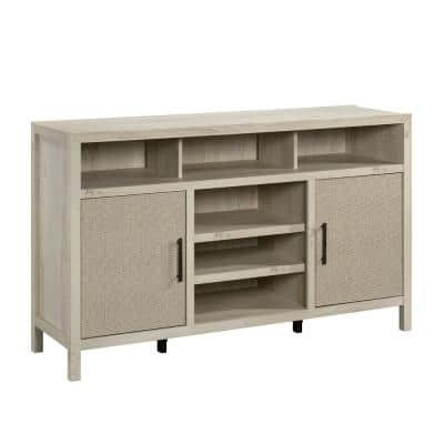 Pacific View 59.055 in. Chalked Chestnut Entertainment Center with 2-Doors Fits TV's up to 60 in.