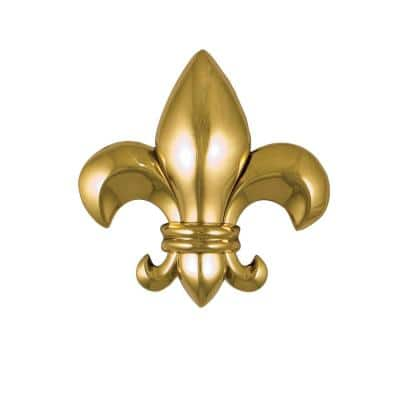 Brass Fleur De Lys Door Knocker