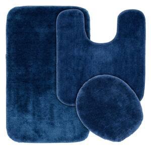Garland Rug Traditional Dark Gray 5 Piece Washable Bathroom Rug Set Ba010w5p06j6 The Home Depot