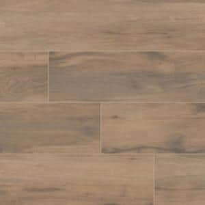 Botanica Cashew 6 in. x 36 in. Matte Porcelain Floor and Wall Tile (12 sq. ft./case)