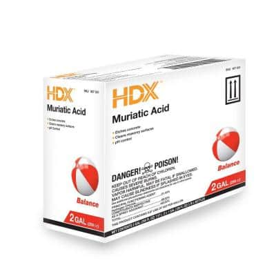1 Gal. Muriatic Acid (2-Pack) pH Adjuster