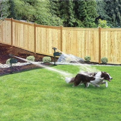 Hydro Critter Blaster Animal Sprinkler Repeller Scarecrow Motion Activated Solar Powered