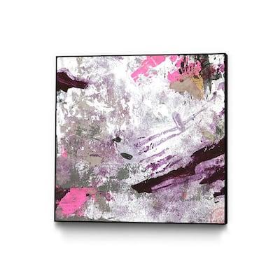 "30 in. x 30 in. ""Diamonds & Time"" by Ivan Ballack Framed Wall Art"