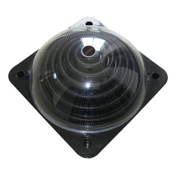 Pool Central 23 25 In Solar Dome Above Ground Swimming Pool Water Heater 32585296 The Home Depot