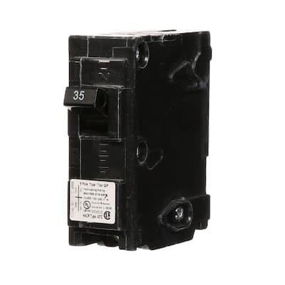 35 Amp Single-Pole Type QP Circuit Breaker