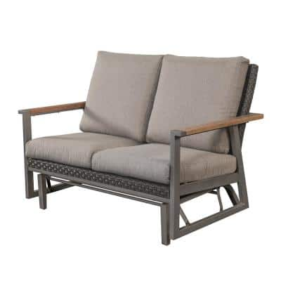 Wicker Outdoor Gliders Patio Chairs, Outdoor Glider Patio Set