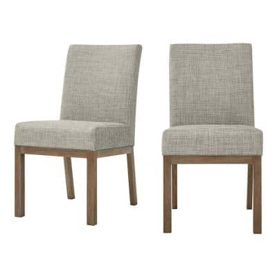 River Haven Steel Upholstered Padded Sling Outdoor Dining Chairs - (2-Pack)
