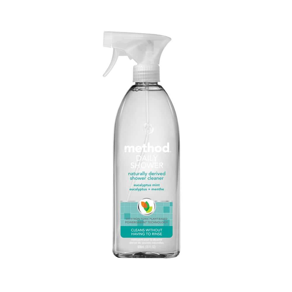 Method 28 oz. Daily Shower Cleaner Eucalyptus Mint-01390 - The
